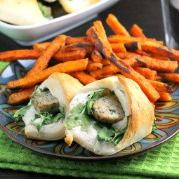Sausage Rolls with Arugula: A Fun Crescent Roll Recipe!