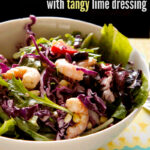 Shrimp Salad with Corn and Tangy Lime Dressing