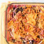 Layered Southwest Chicken Casserole