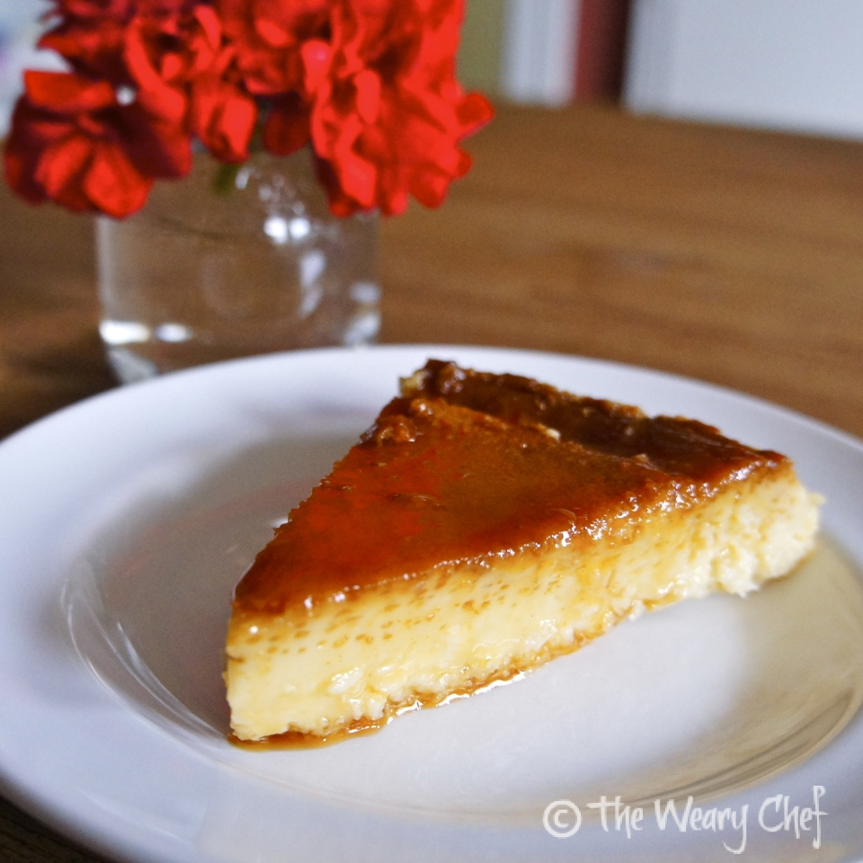 Coconut flan with orange caramel - Laylita's Recipes   Coconut Flan