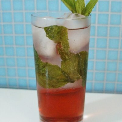 Friday Happy Hour: Pomegranate Coconut Mojito Recipe