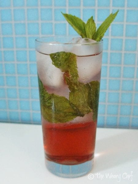 Coconut Pom Mojito - #cocktail #recipe by @wearychef