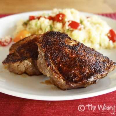 Kitchen Tip: Perfect Seared Steak with Charred Crust