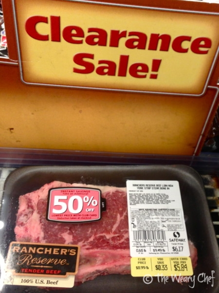 5 Ways to Save Money on Meat - wearychef.com #frugal #shopping