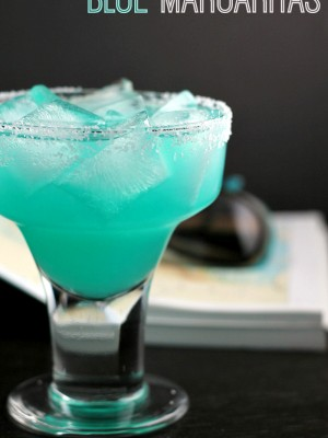Blue Margarita Recipe - A fun twist on a classic cocktail! - wearychef.com