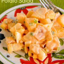 Light Buffalo Potato Salad: Spice up your side dish!