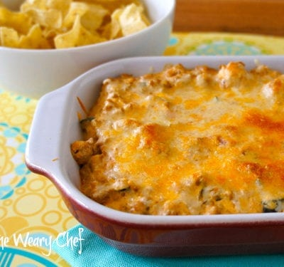 Creamy Taco Dip with Meat