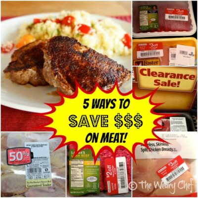 Shopping Tip: 5 Ways to Save Money on Meat and Lower Your Grocery Bill
