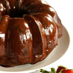 Easy Mocha Chocolate Glaze Icing