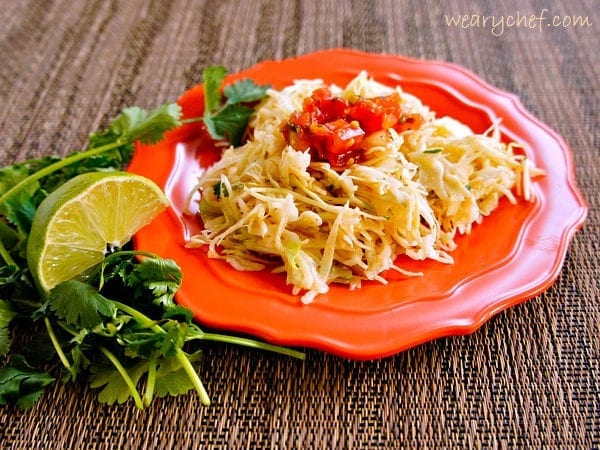 5-Minute Mexican Coleslaw
