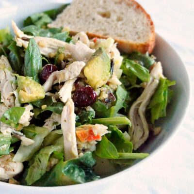 Chicken Salad with Wild Rice: A Hearty, Savory Dinner Salad