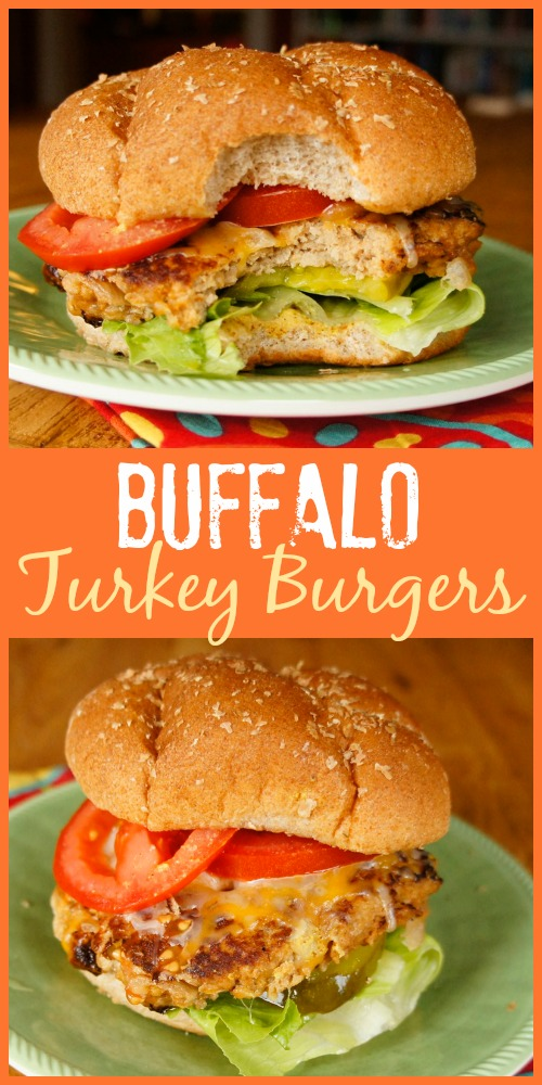 wings, you'll enjoy the flavor of these easy Buffalo Turkey Burgers ...