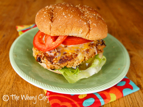 Buffalo Turkey Burgers by @wearychef