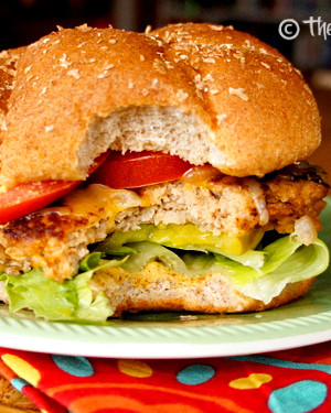 Buffalo Turkey Burgers