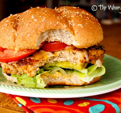 Buffalo Turkey Burgers