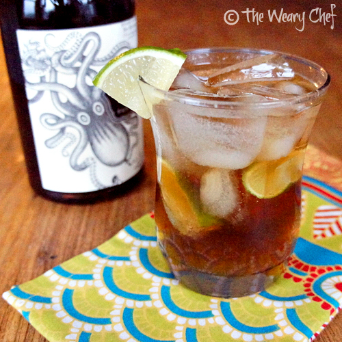 Gray and Cloudy Cocktail: Not your average Dark and Stormy recipe.
