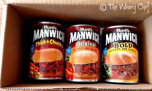 #Manwich comes in three great flavors! | The Weary Chef