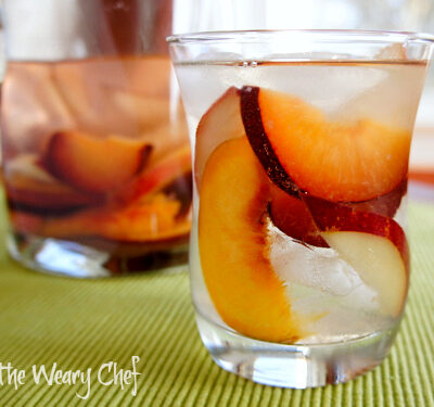 Summer Sake Sangria: A light, refreshing sake cocktail.