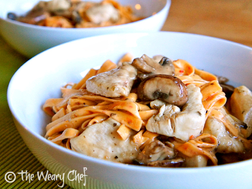 Skillet Chicken Marsala - Classic flavor served as a quick, one-dish meal