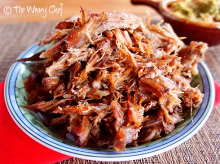 Slow Cooker Carnitas by @wearychef