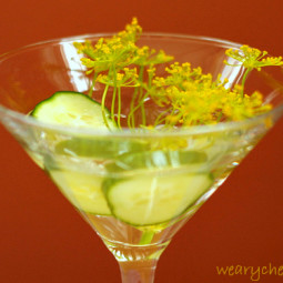 Friday Happy Hour: Cucumber Dill Martini