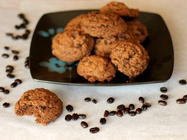 Dark Chocolate Espresso Cookies - A chocolate and coffee lover's dream ...