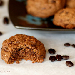 Dark Chocolate Espresso Cookies: The answer to any chocolate craving!