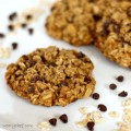 Flourless Cookies with Oatmeal and Chocolate Chips (Eggless Too!) | The Weary Chef #glutenfree