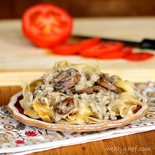 Healthy Hamburger Stroganoff - This #30minutemeal will please your ...