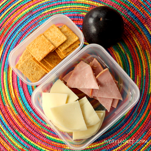 Fun Lunchbox Ideas with Deli Meat and Cheese Slices | The Weary Chef