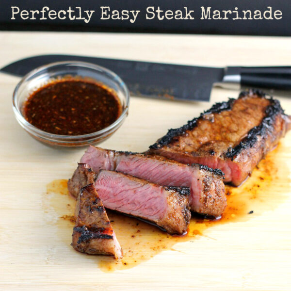 Perfectly Easy Steak Marinade - wearychef.com