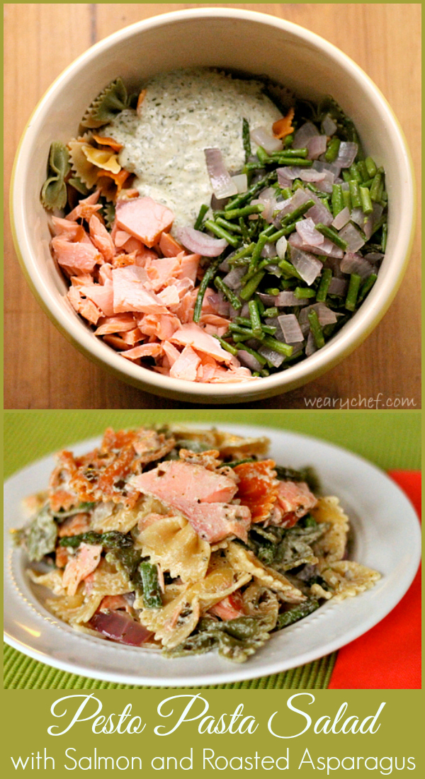 ... Pasta Salad with Smoked Salmon and Roasted Asparagus - The Weary Chef