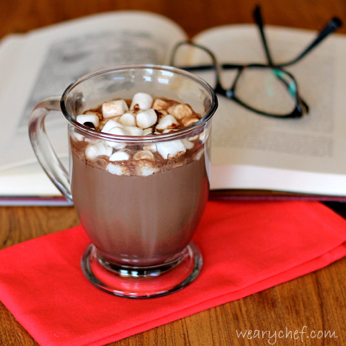 Spiked Mocha Cocktail - Add a little extra warmth to your hot chocolate! #cocktail