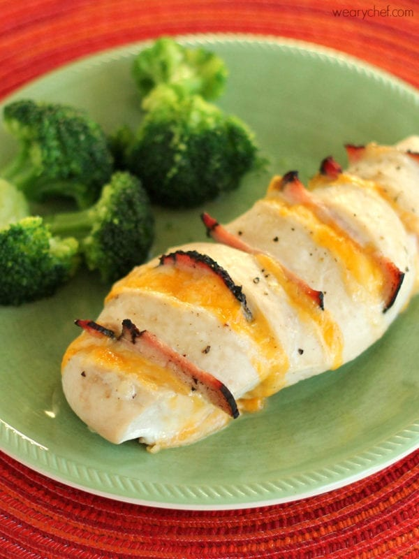 Cheesy Hasselback Chicken - A delicious, elegant chicken dish ready in 30 minutes!