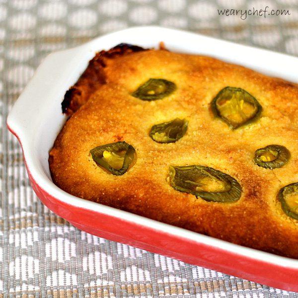 Chili Cornbread Pot Pie   The Weary Chef