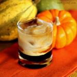 Pumpkin Spice White Russian Cocktail
