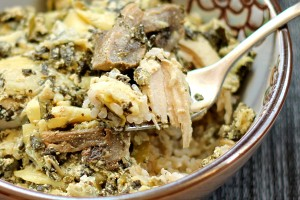 Slow Cooker Chicken with Artichokes and Spinach