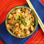 Chinese Chicken Coleslaw Stir Fry