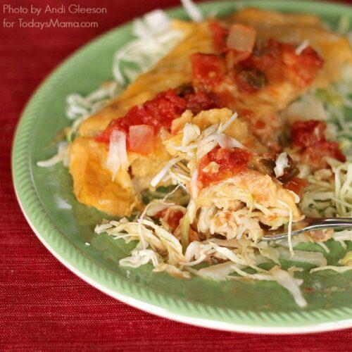 Creamy Enchiladas