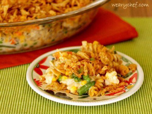 Crunchy Chicken Noodle Casserole