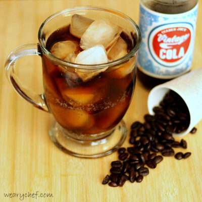 Bright Eyes Rum and Cola with Coffee Liqueur