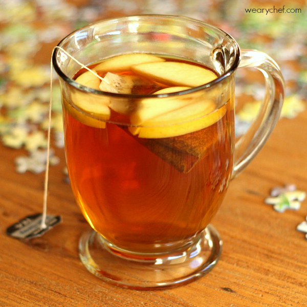 Apple Hot Toddy #winter #cocktail