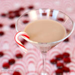 Chocolate Candy Cane Martini