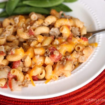 25-Minute Skillet Cheeseburger Macaroni: A perfect weeknight dinner!