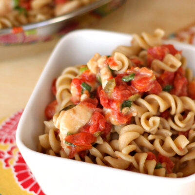 6-Ingredient Mexican Chicken Pasta