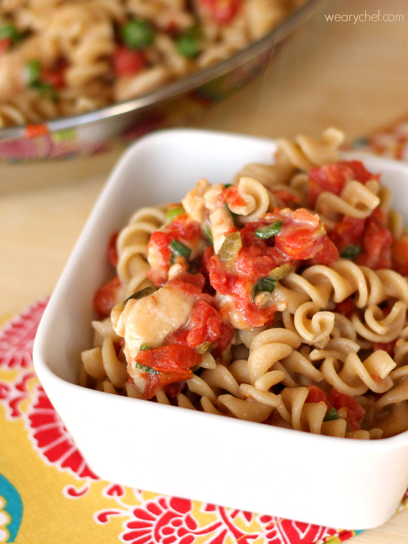 Mexican Chicken Pasta Twisted Food