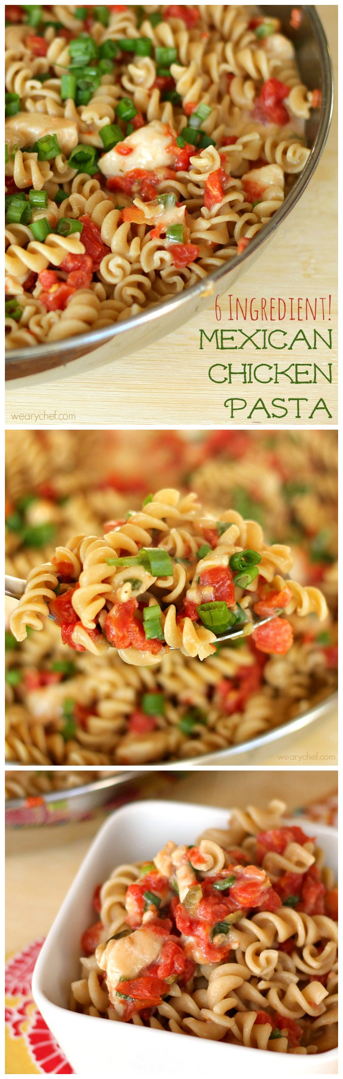 Treat yourself to this super easy dinner recipe with only six ingredients!