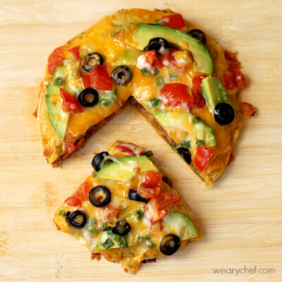 Loaded Mexican Pizza Recipe