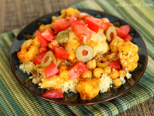 Amazing Slow Cooker Moroccan Chicken #CampbellsSkilledSaucers