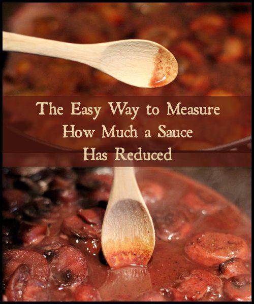 Simple Wine Sauce for Steak